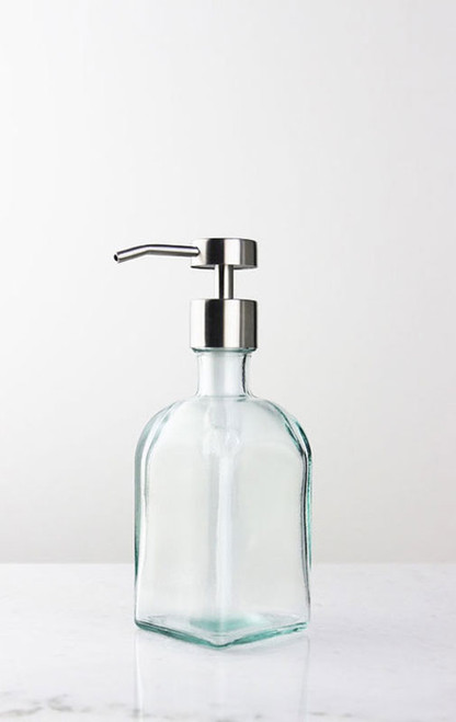 Bungalow Glass Soap Dispenser