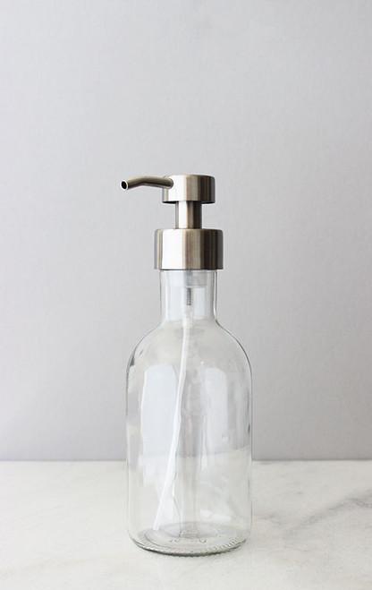 Farm House Foaming Glass Soap Dispenser - Large