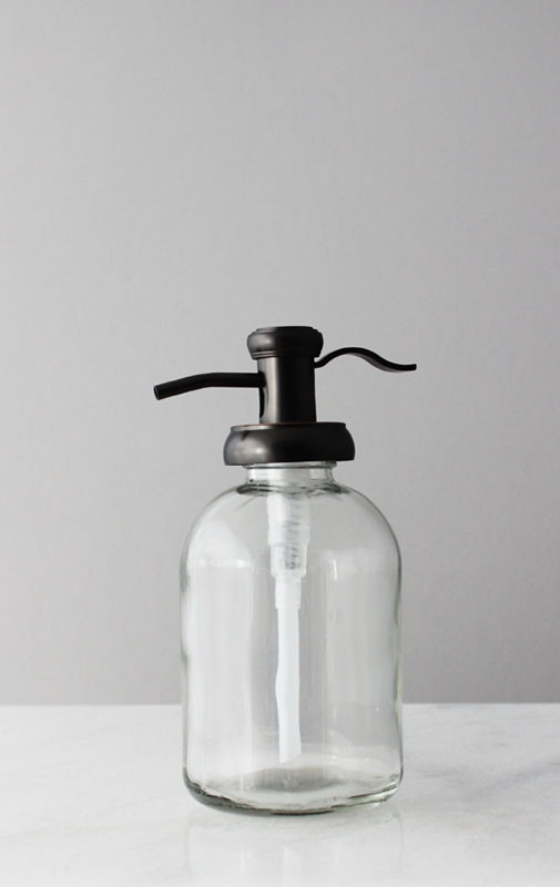 Soap Dispensers Bell Glass Soap Dispenser With Antique
