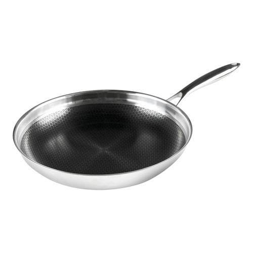 """Black Cube Fry Pan, 12.5"""" dia."""