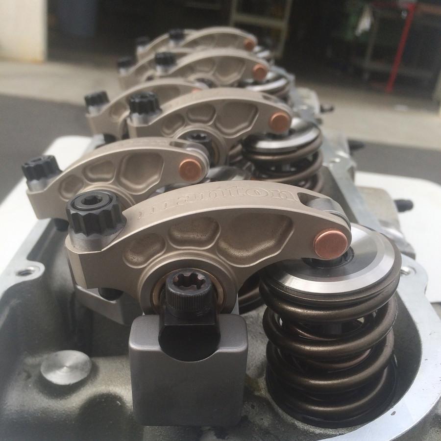 Non-offset Billet Steel Big Block Chevrolet Roller Rockerarm 1.65 fulcrum Length