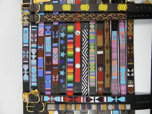 Beaded Maasai Belts