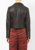 Veda Nova Smooth Black Leather Jacket