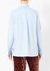 Tibi Oxford Shirred Shirting  Shirt