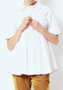 Opening Ceremony Poplin Gathered Front Shirt