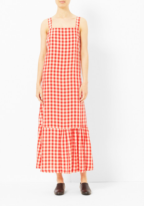 Creatures of Comfort Statlin Chili Check Dress