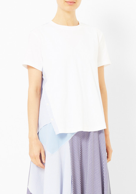 Opening Ceremony Cody Striped Back tee