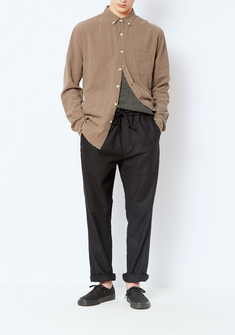 You Must Create Black Wool Alva Pant