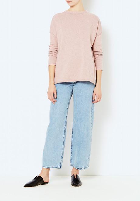 Micaela Greg Rose Speckle Sweater