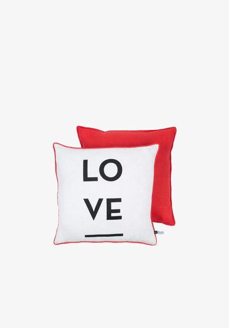 Mona De Castellaurnau Large Love Cushion