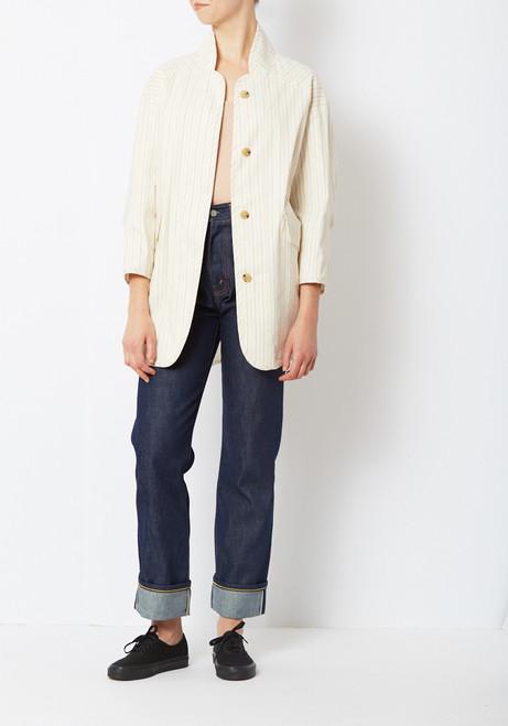 Creatures of Comfort Striped Duffey Jacket