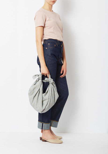 Creatures of Comfort French Linen Knot Bag Clutch