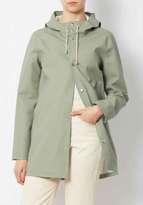Stutterheim Stockholm Raincoat- Light Khaki