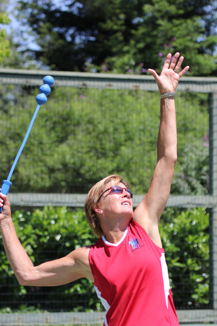 Tossing the Ball for Serve