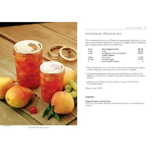Gooseberry Rhubarb Jam Recipe & Picture