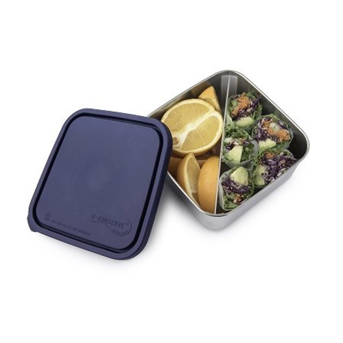 Divided To-Go Container - Large - 50 oz - Ocean