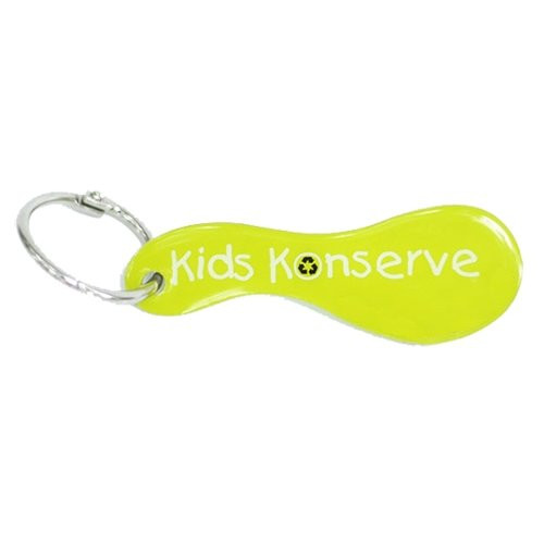 Aluminum Name Tag - Lime
