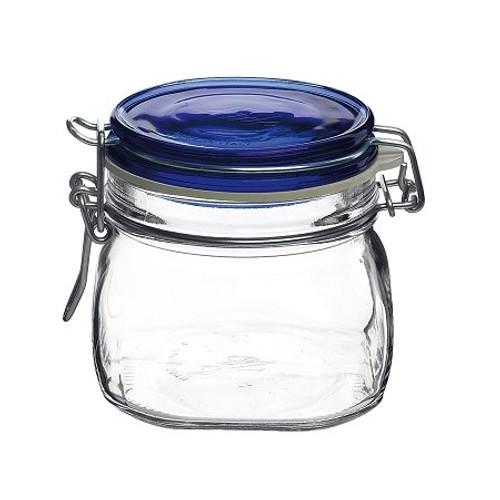 Fido Jar - .5L (17 oz) - Blue Lid