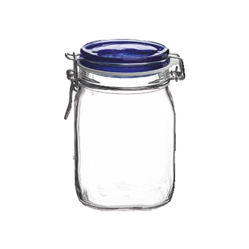 Fido Jar - 1L (33.75 oz) - Blue Lid (BR 149530M04321877)