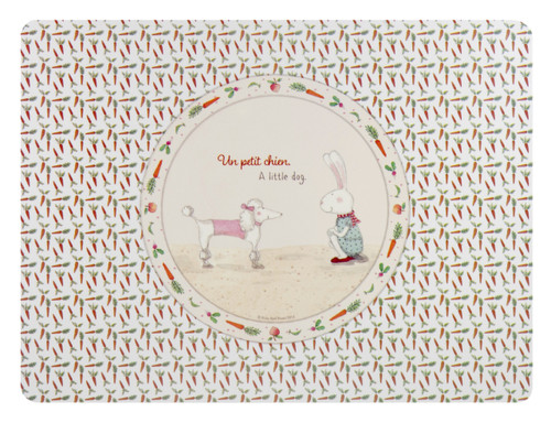 Ashdene Kids Polypropylene Placemat - Ruby Red Shoes - Petit Chien