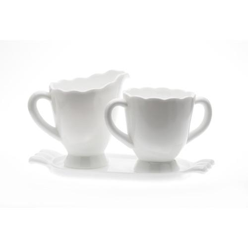 Mosser Glass Creamers & Sugars - Milk