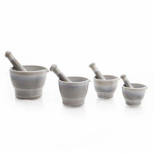 Mosser Glass Mortar & Pestle - Marble - Collection