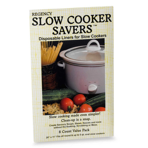 Regency Slow Cooker Saver, Set of 8