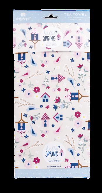 Ashdene Hello Spring- Tea Towel