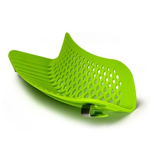 Ecolution Kitchen Extras Silicone Clip-On Strainer