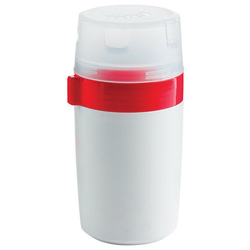 Trudeau Fuel Dual Food Container - 12 oz. - Candy Red (TR 03017019)