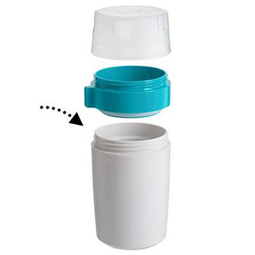 Trudeau Fuel Dual Food Container - 12 oz.