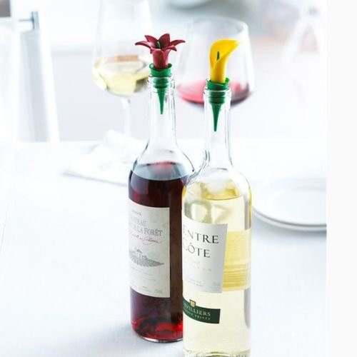 Trudeau Wine Stopper- Purple