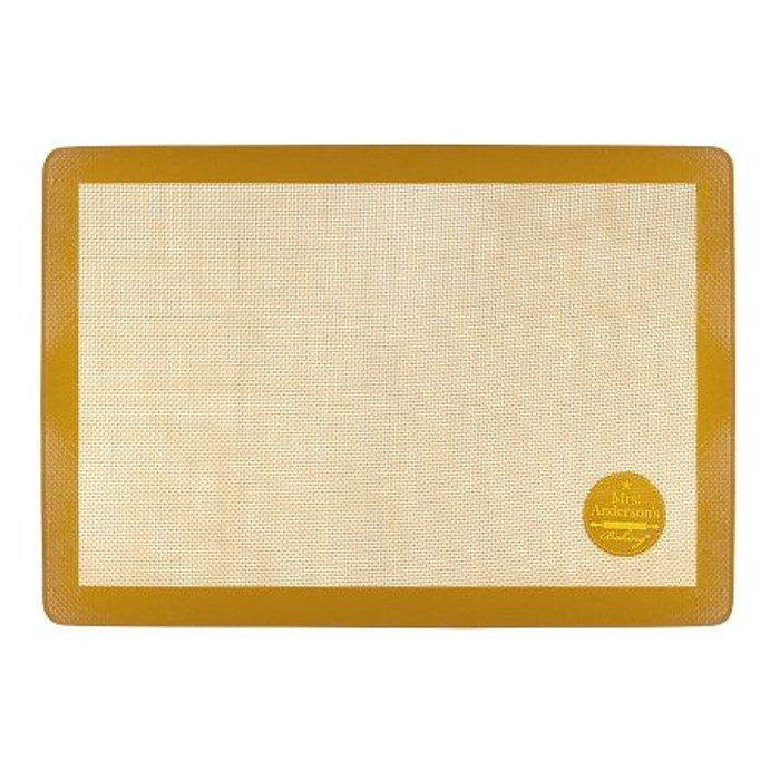 Mrs. Anderson's Baking Half Size Silicone Baking Mat