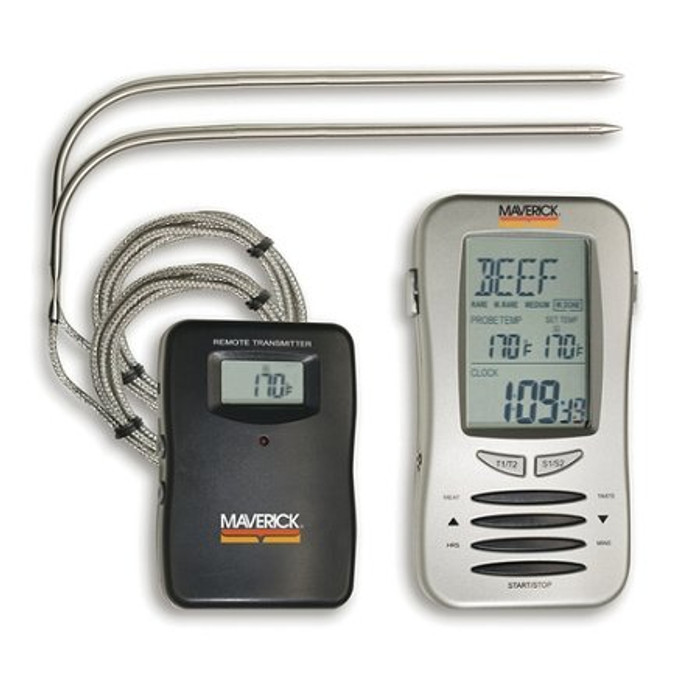 Maverick Remote Cooking Thermometer with Two Probes