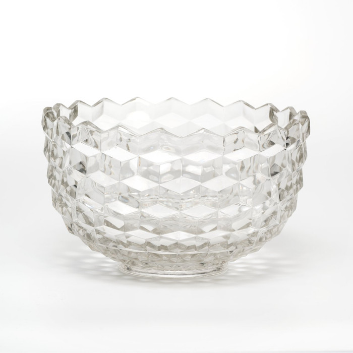 Mosser Glass Katherine Bowl- 6 Qt. - Crystal (MG 601BLC)