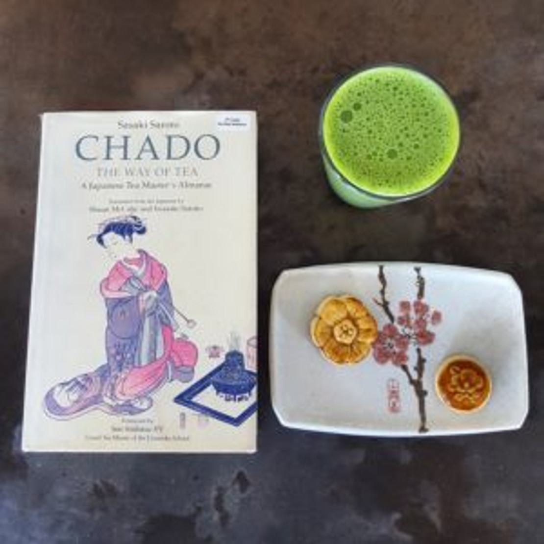 Matcha Latte A l'Orange Recipe