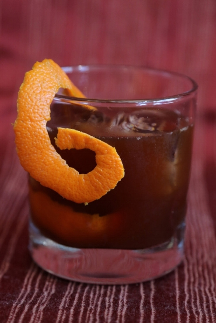 Orange Cardamom Old Fashioned Recipe