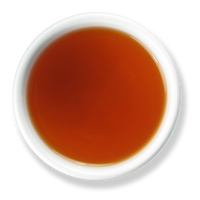 Assam organic loose leaf black tea brew from The Jasmine Pearl Tea Co.