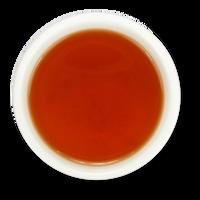 Vanilla Rose loose leaf black tea brew from The Jasmine Pearl Tea Co.