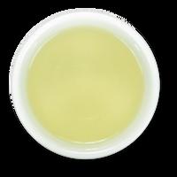 Tranquility Mao Jian organic loose leaf green tea brew from The Jasmine Pearl Tea Co.