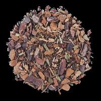 Dark Forest loose leaf herbal tea blend from The Jasmine Pearl Tea Co.