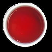 Lemon Hibiscus organic loose leaf herbal tea brew from The Jasmine Pearl Tea Co.