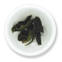 Dong Ding oolong wet leaf from The Jasmine Pearl Tea Co.