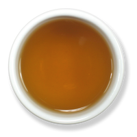 Organic spearmint tea brew from The Jasmine Pearl Tea Co.