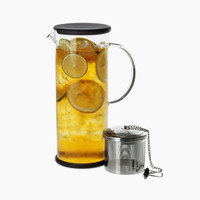 ForLife Lucent Iced Tea Jug with Capsule Infuser