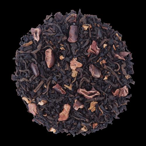 Cocoa Deluxe black loose leaf tea from The Jasmine Pearl Tea Co.