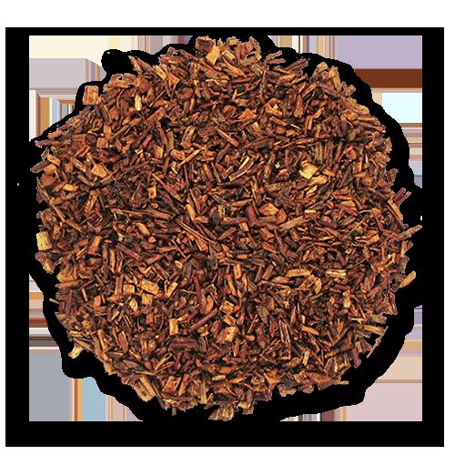 Vanilla Rooibos loose leaf herbal tea from The Jasmine Pearl Tea Co.