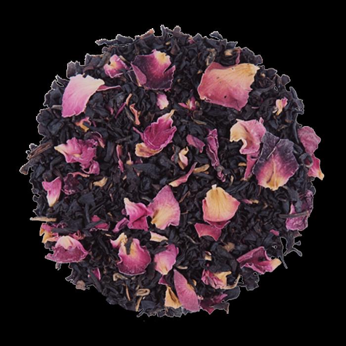Vanilla Rose loose leaf black tea blend from The Jasmine Pearl Tea Co.