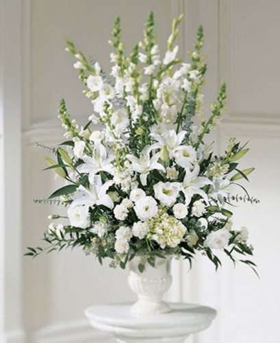 White Memories Designed in Urn
