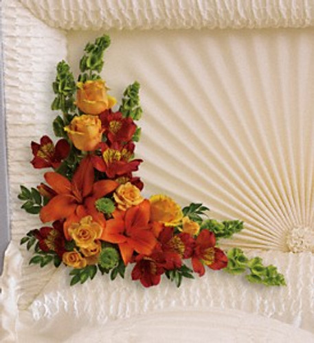 Always Corner Casket Lid Decoration